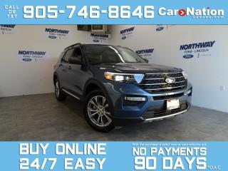 Used 2020 Ford Explorer XLT | 4X4 | LEATHER | NAV | PANO ROOF | 20'' RIMS for sale in Brantford, ON