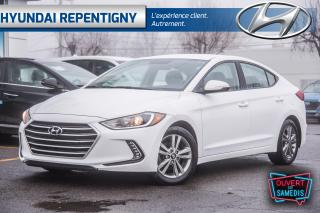 Used 2018 Hyundai Elantra GL 4 PORTES**BLUETOOTH, DÉMARREUR, A/C** for sale in Repentigny, QC