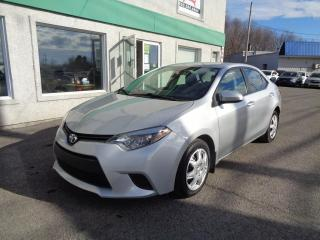 Used 2015 Toyota Corolla Berline 4 portes, boîte manuelle, CE for sale in St-Jérôme, QC