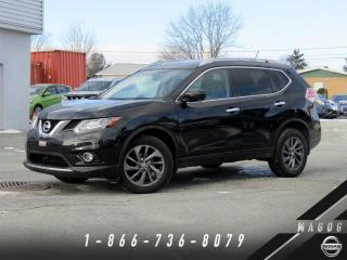 Used 2016 Nissan Rogue SL AWD, PREMIUM, NAVI, CUIR, TOIT! for sale in Magog, QC