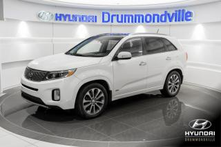 Used 2015 Kia Sorento SX + GARANTIE + NAVI +TOIT PANO+CUIR+WOW for sale in Drummondville, QC