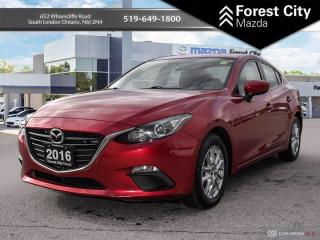 Used 2016 Mazda MAZDA3 HEATED SEATS | NAVIGATION | MOONROOF for sale in London, ON