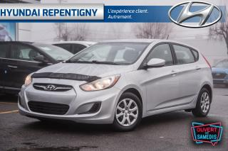 Used 2014 Hyundai Accent GL 5 PORTES**A/C,BLUETOOTH, GROUPE ÉLECTRIQUE** for sale in Repentigny, QC