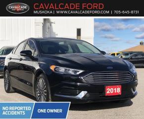 Used 2018 Ford Fusion SE for sale in Bracebridge, ON