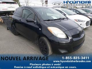 Used 2010 Toyota Yaris CE 3 PORTES+AIR CLIMATISÉ+CD/AUXILIAIRE for sale in Sherbrooke, QC