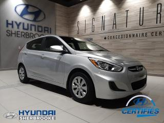 Used 2017 Hyundai Accent BAS KILO LE AIR CLIM DÉMARREUR BLUETOOTH for sale in Sherbrooke, QC