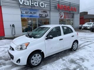 Used 2019 Nissan Micra S *** 3 EN INVENTAIRE *** Encore Neuve!! for sale in Val-d'Or, QC