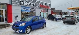 Used 2015 Nissan Micra S *** A/C + AUTOMATIQUE *** INSPECTÉ ET RÉPARÉ!! EN TRÈS BON ÉTAT!!! for sale in Val-d'Or, QC