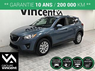 Used 2014 Mazda CX-5 GS ** GARANTIE 10 ANS ** Une conduite très agréable! for sale in Shawinigan, QC
