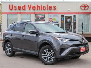 Used 2017 Toyota RAV4 LE AWD HEAT-SEAT ALLOYS REV-CAM 1-OWNER LOW-KMS for sale in North York, ON