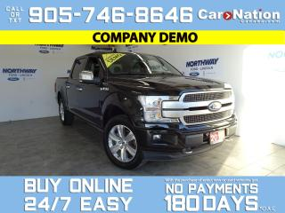 Used 2019 Ford F-150 PLATINUM | 4X4 | TECHNOLOGY PKG | PANORAMIC ROOF for sale in Brantford, ON