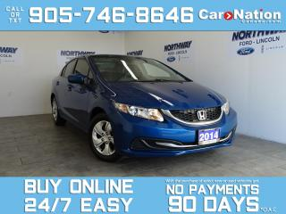 Used 2014 Honda Civic Sedan LX | BLUETOOTH | HEATED SEATS | AUTO | LOW KM! for sale in Brantford, ON