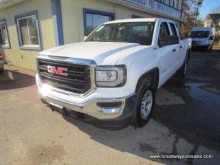 Used 2017 GMC Sierra 1500 WORK READY SL EDITION 6 PASSENGER 5.3L - VORTEC.. 4X4 SYSTEM.. QUAD-CAB.. SHORTY.. TOW SUPPORT.. TRAILER BRAKE.. CD/AUX/USB INPUT.. KEYLESS ENTRY.. for sale in Bradford, ON