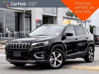 Used 2019 Jeep Cherokee Limited Heated Seats & Wheel Bluetooth Navigation for sale in Thornhill, ON