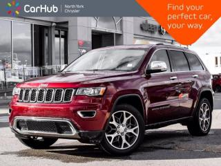 Used 2019 Jeep Grand Cherokee Limited 4x4 Sunroof Heated Seats & Wheel for sale in Thornhill, ON
