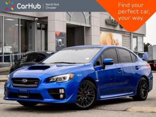 Used 2016 Subaru WRX STI Manual AWD  Sunroof Back-up Camera Blind Spot Sport Sharp Mode Bluetooth for sale in Thornhill, ON