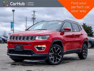 Used 2020 Jeep Compass Limited 4x4 Navigation Bluetooth Backup Camera Blind Spot Remote Start Leather 19