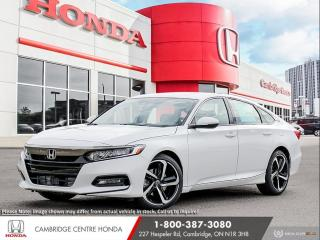 New 2020 Honda Accord Sport 1.5T HONDA SENSING TECHNOLOGIES | HEATED SEATS | APPLE CARPLAY™ & ANDROID AUTO™ for sale in Cambridge, ON