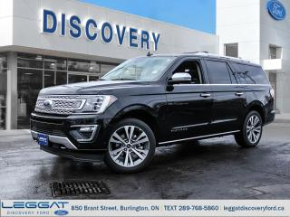 New 2020 Ford Expedition Platinum Max for sale in Burlington, ON