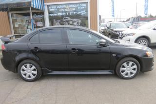 Used 2016 Mitsubishi Lancer ES TA berline 4 portes CVT for sale in Prevost, QC