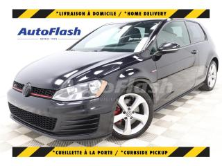 Used 2015 Volkswagen Golf GTI AUTOBAHN *210HP! DSG *CAMERA *CRUISE *BLUETOOTH for sale in St-Hubert, QC