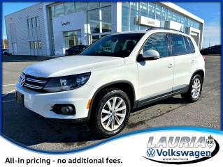 Used 2012 Volkswagen Tiguan Comfortline 4Motion AWD - LOW KMS for sale in PORT HOPE, ON