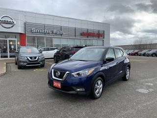 Used 2019 Nissan Kicks S CVT (2) for sale in Smiths Falls, ON