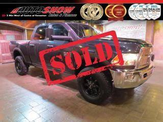Used 2018 RAM 2500 SLT + R.Start, Big Screen, WIFI, CarPlay & Android Auto for sale in Winnipeg, MB
