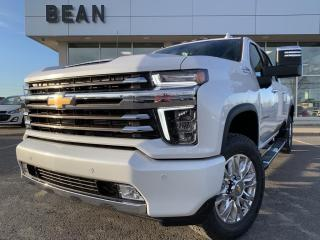 New 2021 Chevrolet Silverado 2500 HD High Country CREW CAB WITH SAFETY & TECHNOLOGY PACKAGE for sale in Carleton Place, ON