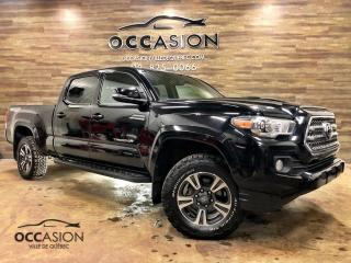 Used 2017 Toyota Tacoma TRD Sport Double Cab V6 4RM BA for sale in Ste-Brigitte-de-Laval, QC