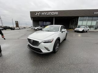 Used 2016 Mazda CX-3 AWD 4dr GT,TOIT,A/C,NAV,CAMERA,MAGS+++ for sale in Mirabel, QC