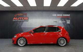 Used 2015 Volkswagen Golf GTI GTI AUTOBAHN MANUEL + STAGE 1 + ROTIFORM TOIT PANO for sale in Lévis, QC