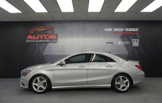 Used 2015 Mercedes-Benz CLA-Class CLA250 4MATIC AUTO CUIR MAGS BLUETOOTH 50 736 KM for sale in Lévis, QC