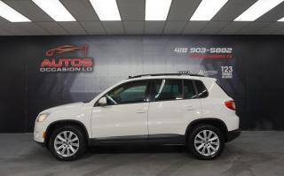 Used 2009 Volkswagen Tiguan 4MOTION COMFORTLINE 2.0T AUTO + TOIT PANO + SIÈGES for sale in Lévis, QC