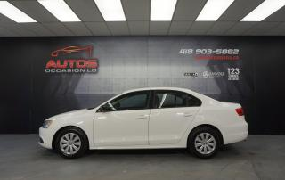 Used 2012 Volkswagen Jetta TRENDLINE+ 2.0L AUTO AIR CLIMATISÉ SIÈGES 135 170 for sale in Lévis, QC