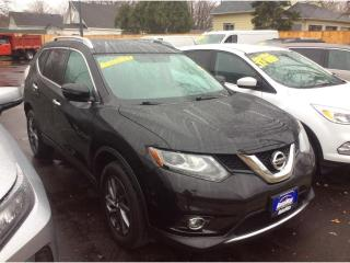 Used 2016 Nissan Rogue SL Premium for sale in Sarnia, ON