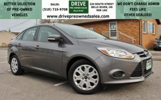 Used 2013 Ford Focus TWO SETS OF WHEELS | NO ACCIDENTS | Low K's FWD Bluetooth Cruise Control for sale in Belle River, ON