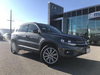 Used 2014 Volkswagen Tiguan Highline AWD | Pano Roof | Navigation for sale in Chatham, ON
