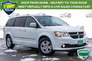 Used 2017 Dodge Grand Caravan Crew HEATED SEATS! POWER SLIDING DOORS! LEATHER! for sale in Barrie, ON