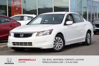 Used 2008 Honda Accord LX AUTO CRUISE AUTO AC CRUISE BAS KM for sale in Lachine, QC