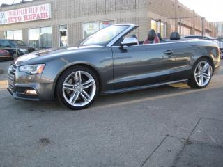 Used 2015 Audi S5 2dr Conv Auto Technik for sale in North York, ON