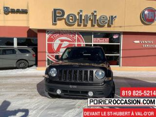 Used 2015 Jeep Patriot High Altitude 8 Roues et 8 Pneus for sale in Val-D'or, QC