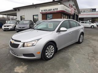 Used 2011 Chevrolet Cruze Berline LT turbo 4 portes avec 1SA for sale in Sherbrooke, QC