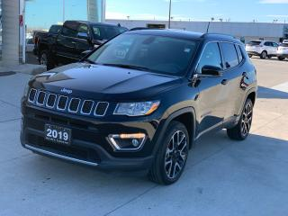 Used 2019 Jeep Compass LIMITED for sale in Tilbury, ON