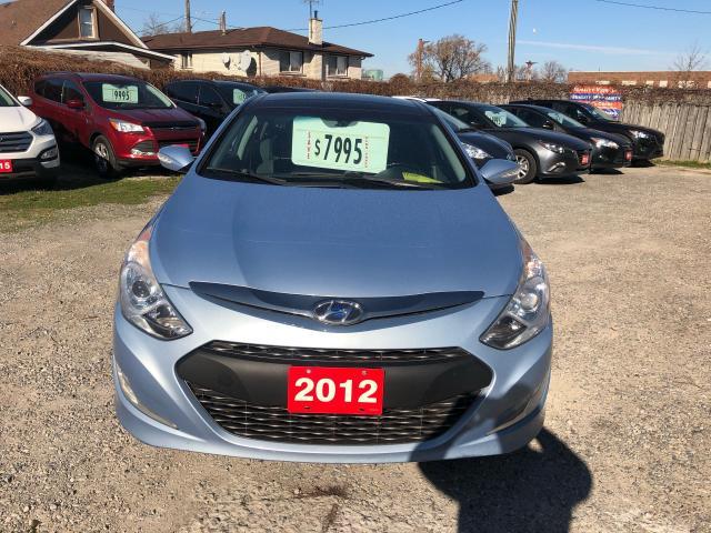 2012 Hyundai Sonata HEV w/Premium Pkg