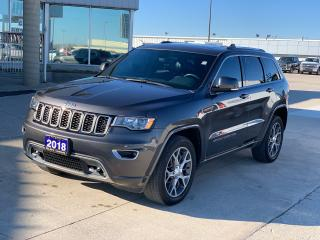 Used 2018 Jeep Grand Cherokee Sterling Edition for sale in Tilbury, ON