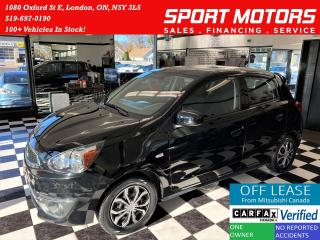 Used 2017 Mitsubishi Mirage ES+10 YR Warranty+Bluetooth+NewTires+ACCIDENT FREE for sale in London, ON