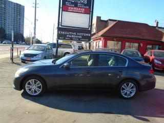 Used 2010 Infiniti G37 Luxury/ AWD/ LEATHER /ROOF / PUSH START / REV CAM for sale in Scarborough, ON