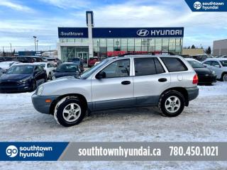 Used 2003 Hyundai Santa Fe GL/MANUAL/FWD/AIR for sale in Edmonton, AB