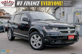 Used 2009 Dodge Journey R/T / LEATHER / SUNROOF / NAVI / CAM  / DVD / for sale in Hamilton, ON